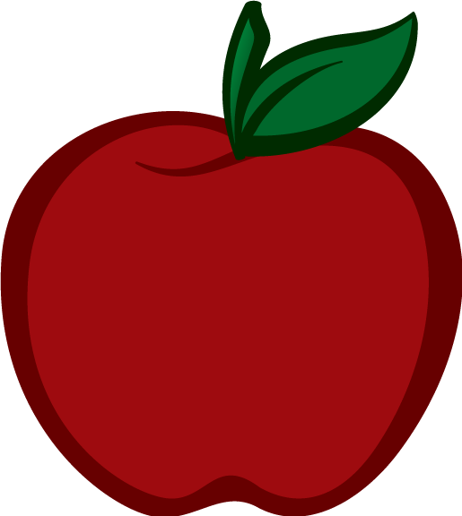 black and white Apple Fruit PNG Transparent Free Images