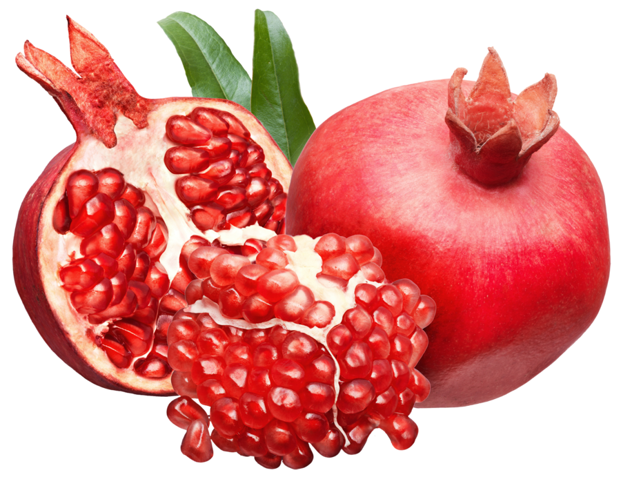 png library library Pomegranate fruits on a. Transparent fruit background.
