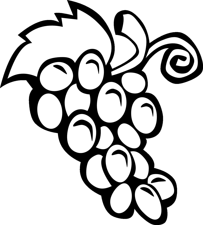 svg freeuse Cornucopia black and white clipart. Fruit panda free images
