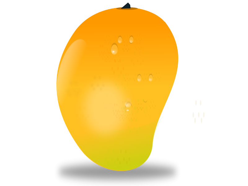picture freeuse library Mango Fruits Clipart