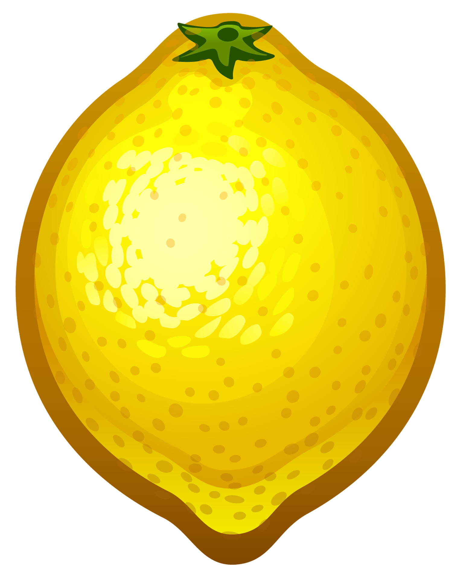 picture royalty free library Lemons clipart transparent background. Large painted lemon png.