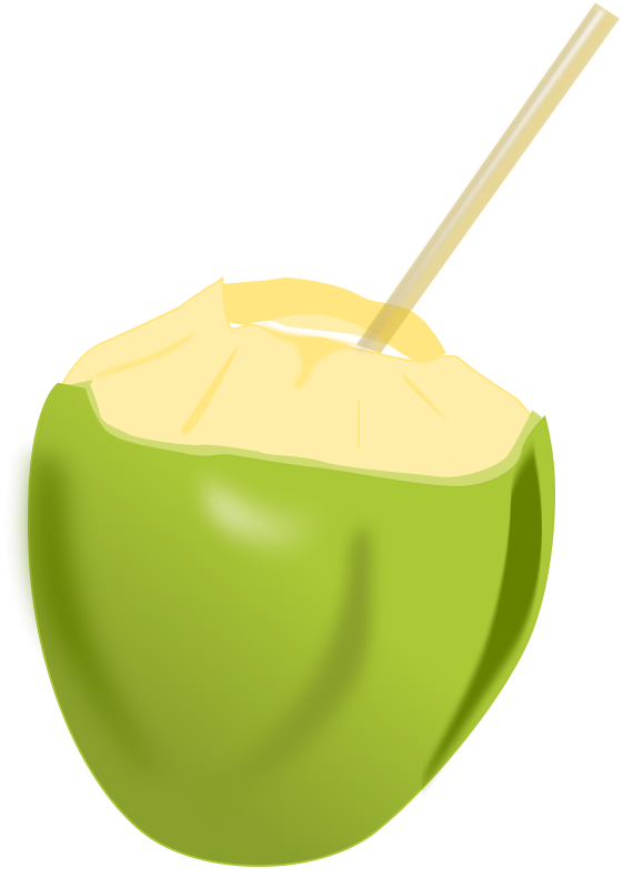jpg freeuse download Free fruit animations and. Green clipart milkshake