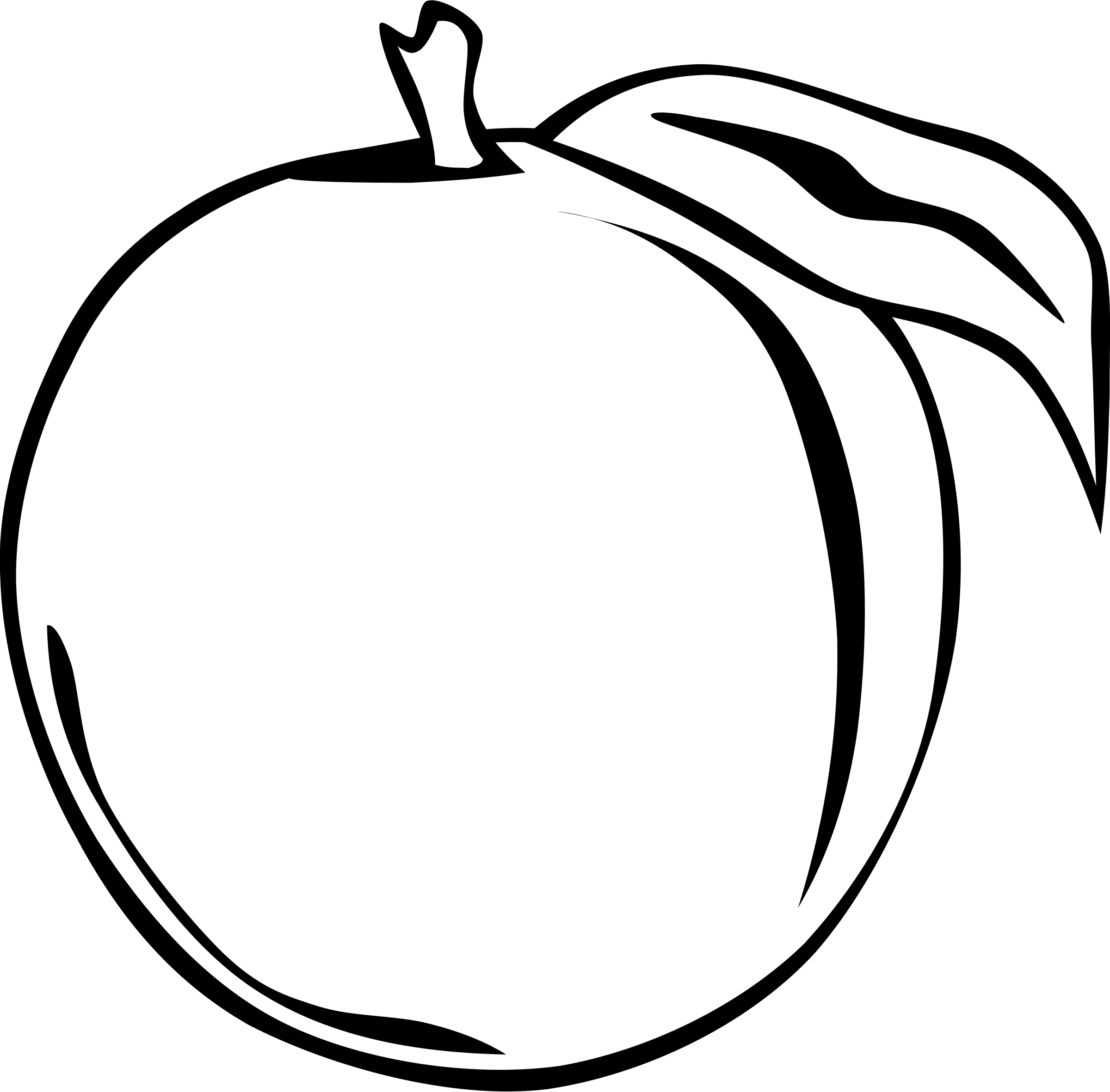 picture black and white library Fruit clipart chico free. Drawing synonyms apple
