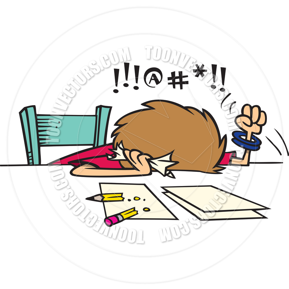graphic freeuse stock Frustrated clipart. Clip art free panda.