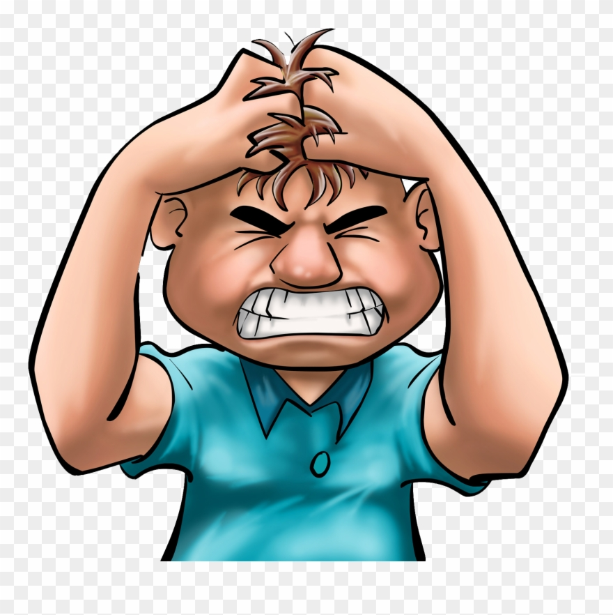 clip art library Frustrated kid clipart. Anger free collection facts