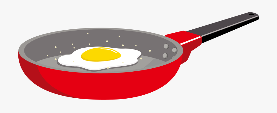 image transparent stock Frying clipart. Fried egg omelet in.