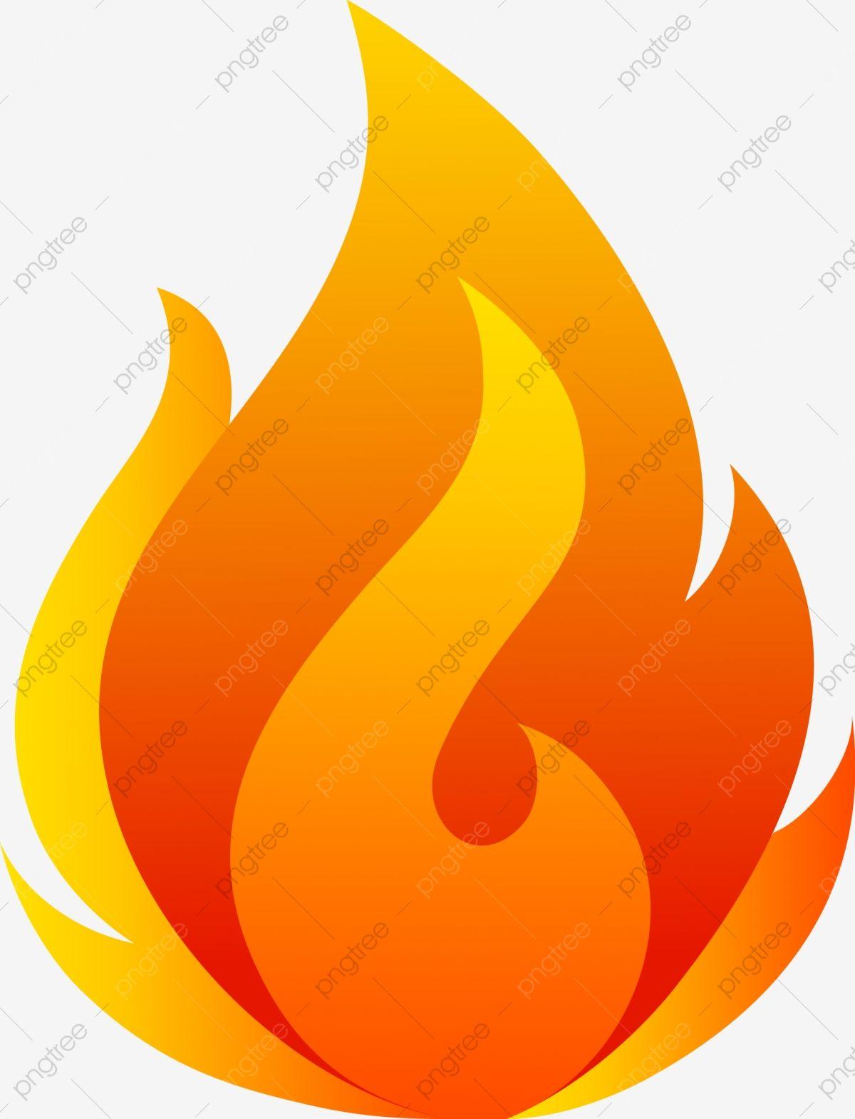 graphic transparent download Llamas de red flame. Fuego vector