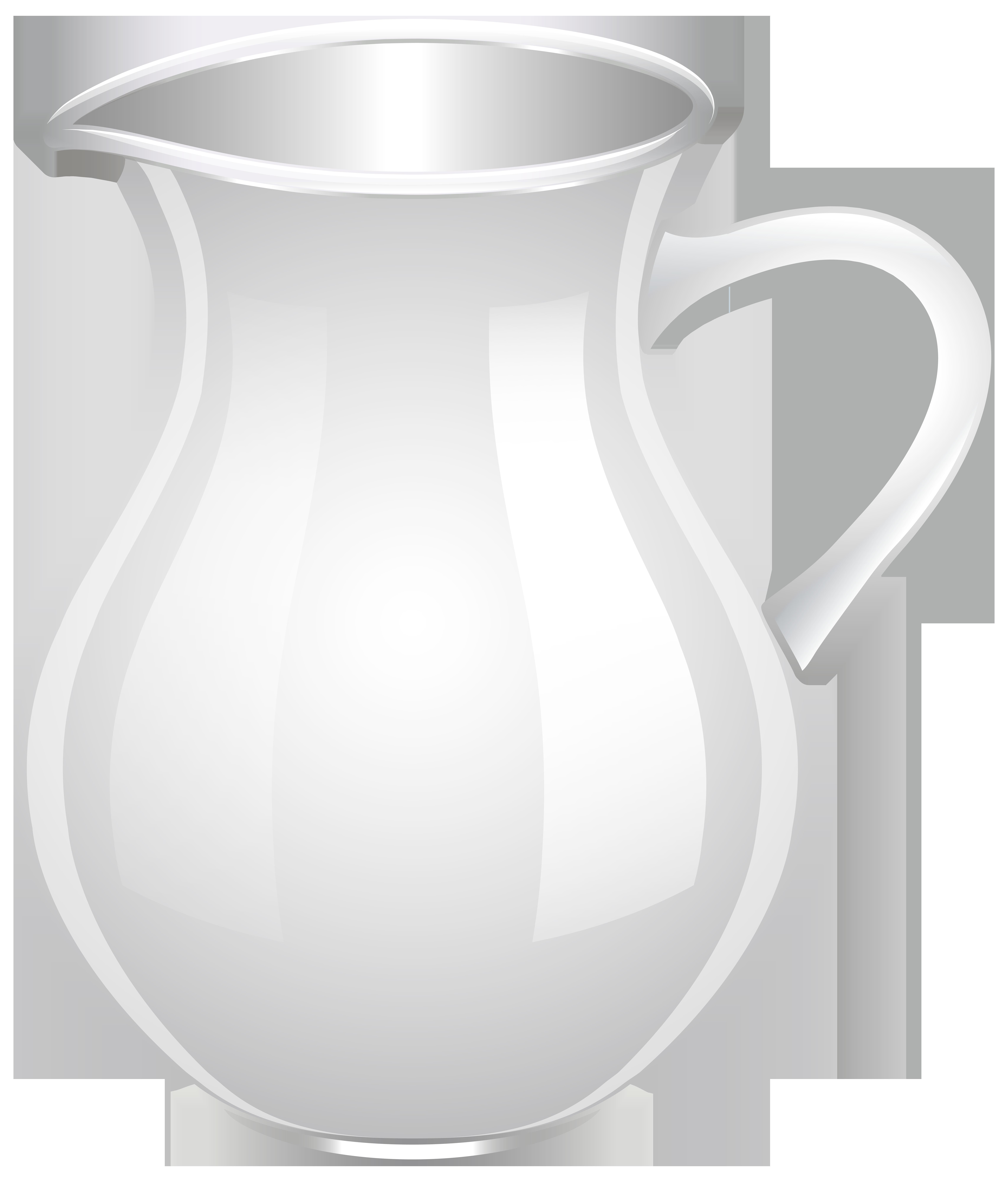image royalty free stock White png clip art. Mug clipart jug.