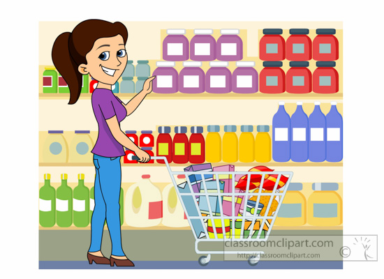 picture free Free grocery clip art. Supermarket clipart super market