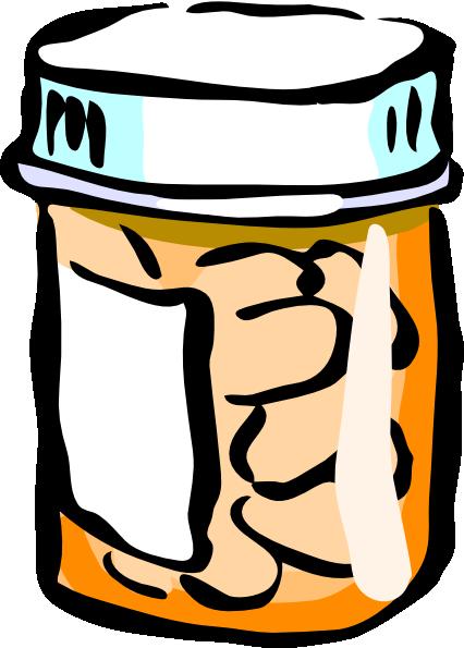 clip royalty free stock Medicine Bottle Clip Art at Clker