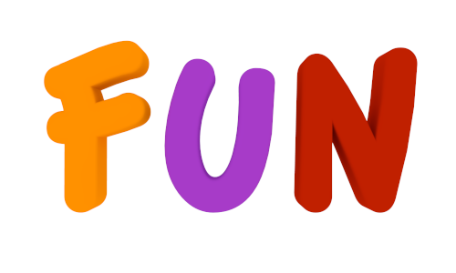svg black and white the word fun clipart #63923705