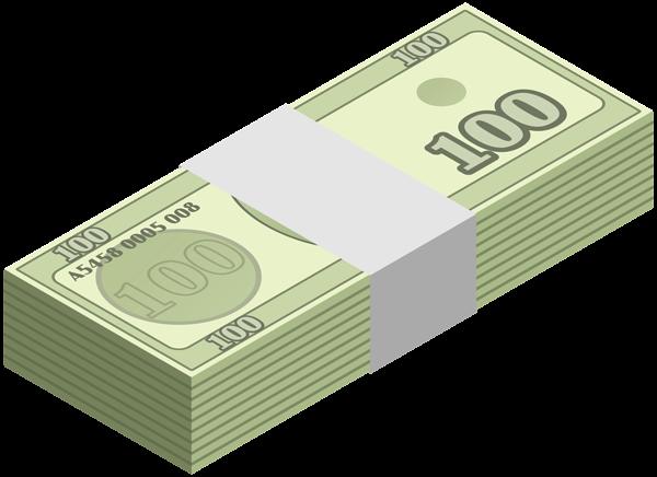 vector transparent download Wad of Money Transparent Clip Art Image