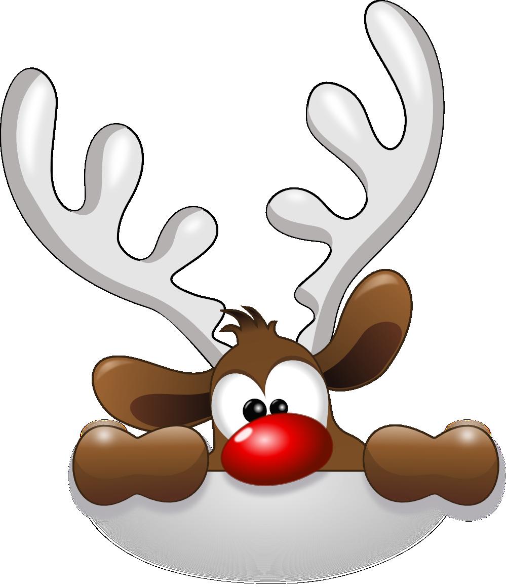 royalty free download Funny Reindeer