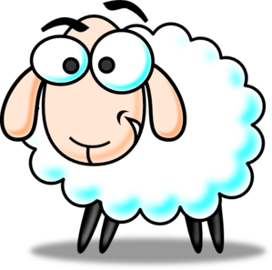 banner free Funny clipart. Sheep clip art at