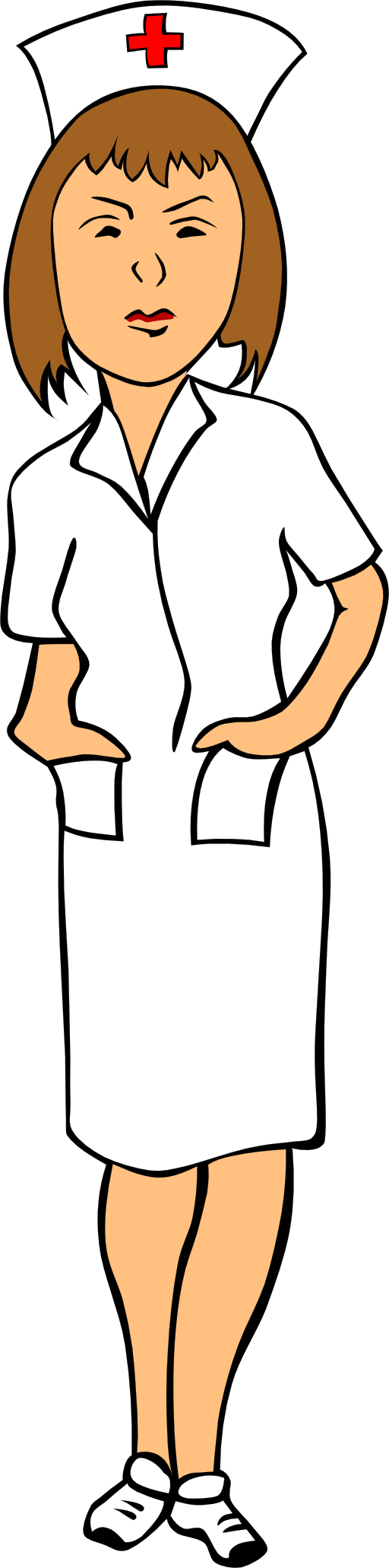 png library library Nurse Clip Art Funny