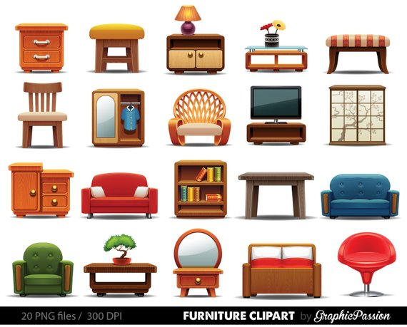 jpg free library Furniture clipart. Home decor