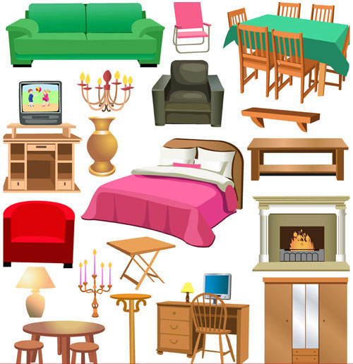 clipart black and white Free cliparts download clip. Furniture clipart