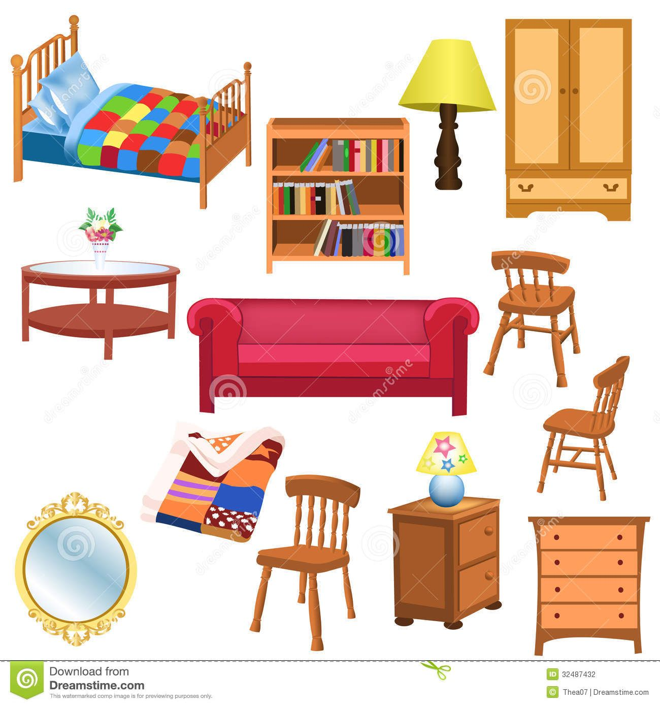 picture transparent library Furniture clipart. Living room places to