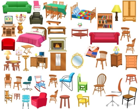 clipart free A variety of clip. Furniture clipart