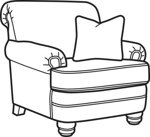 clip art royalty free Chair Line Art Group