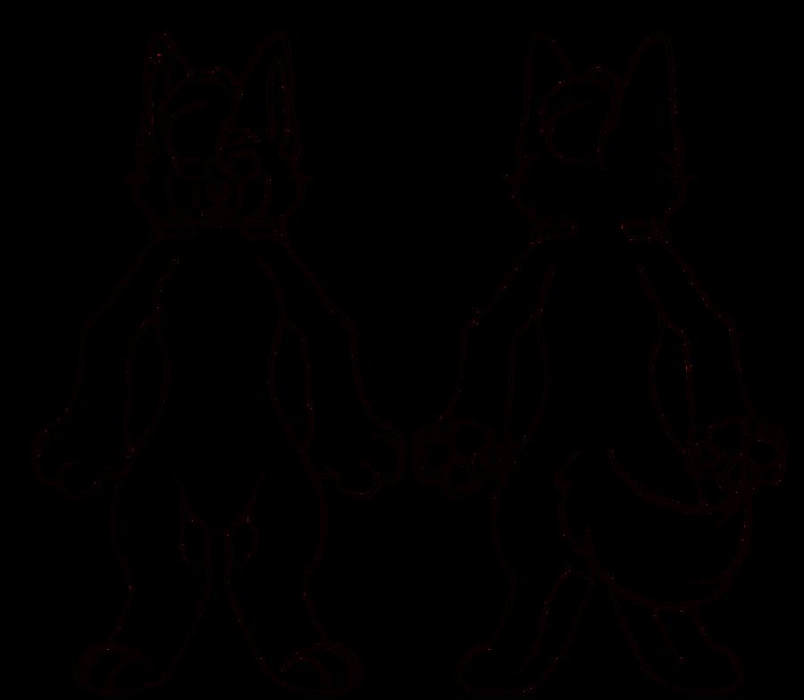 vector free download Fursuit Base Drawing at GetDrawings