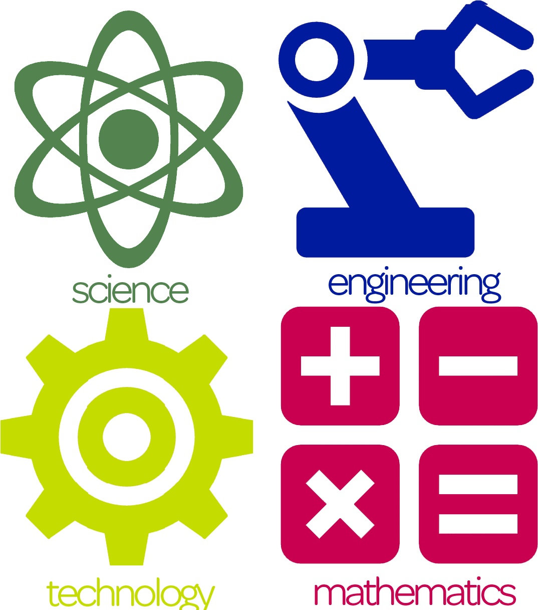 clip black and white library science technology engineering math clipart #62668892