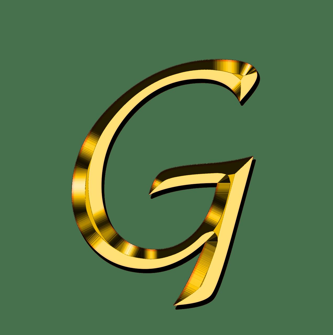 banner library stock transparent letter g