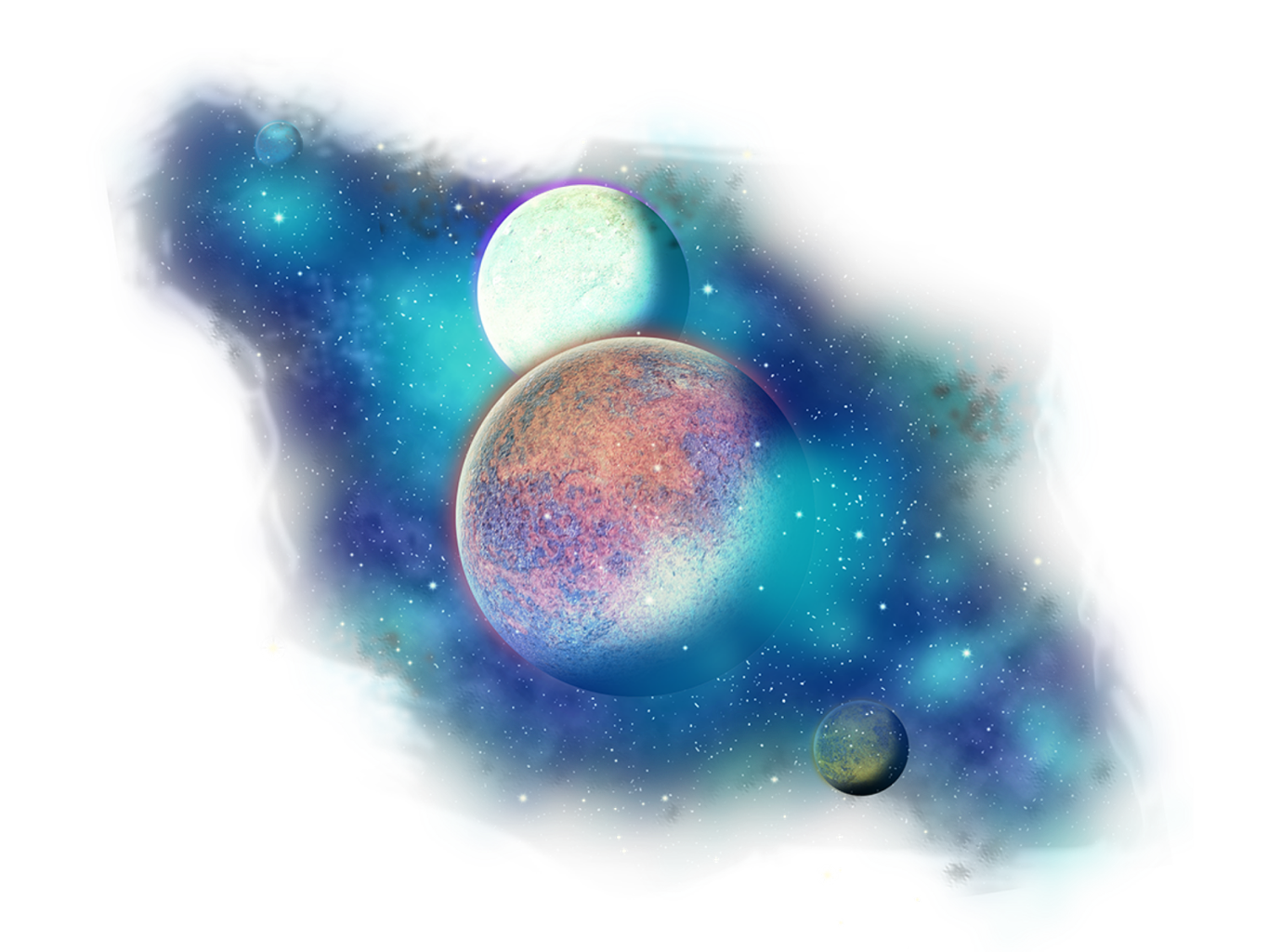 clipart transparent stock Galaxy clipart. Freetoedit png stars planets