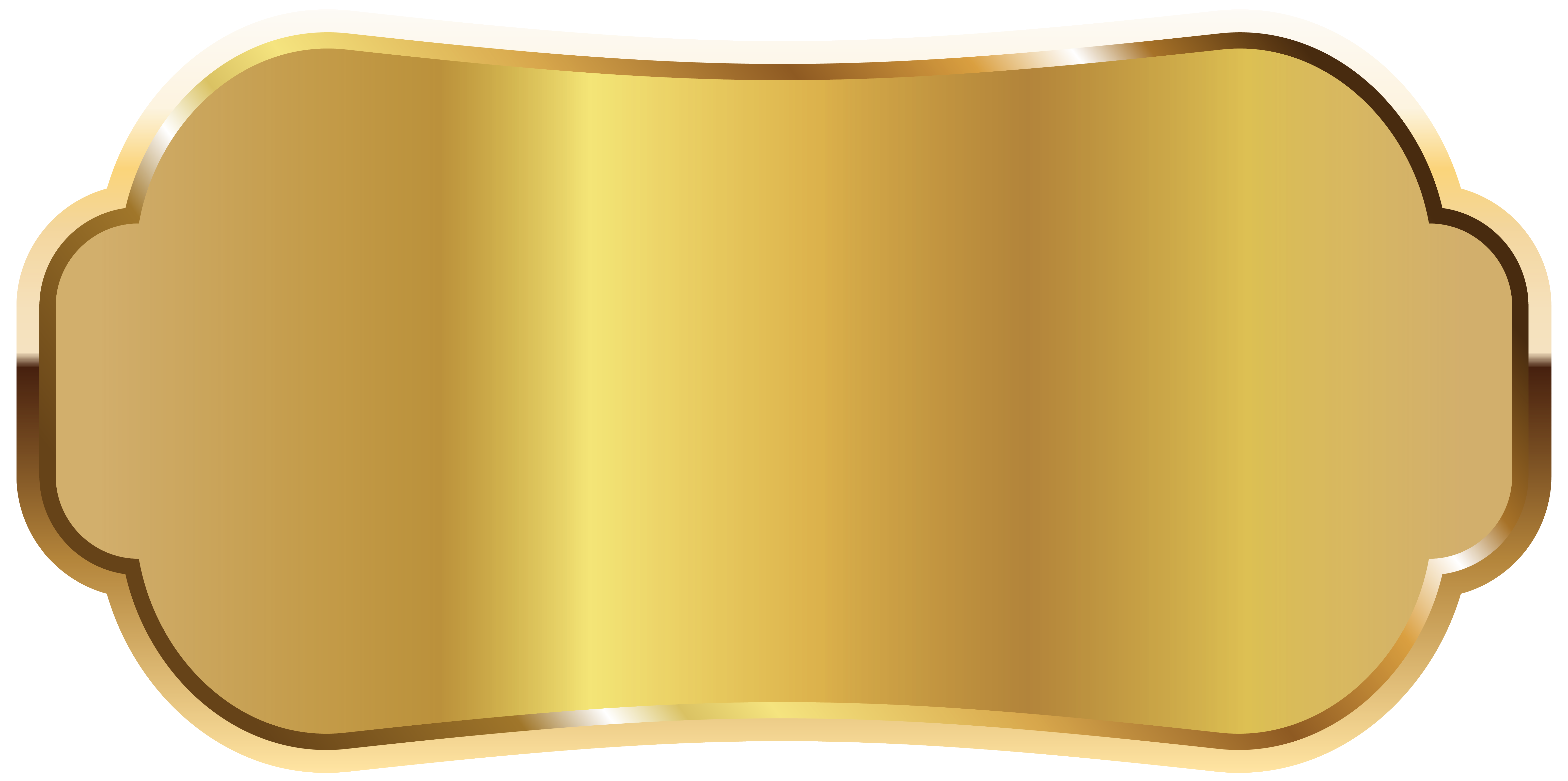 download Golden label png image. Gallery clipart.