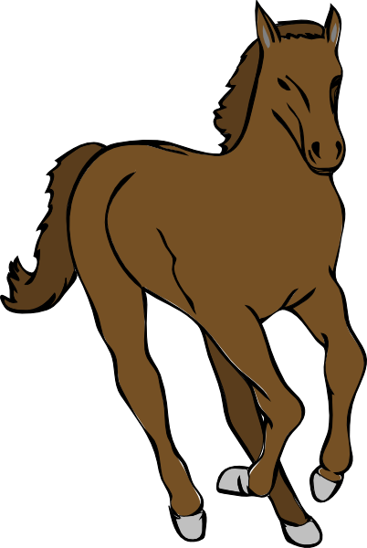png library stock Galloping Horse Clip Art at Clker
