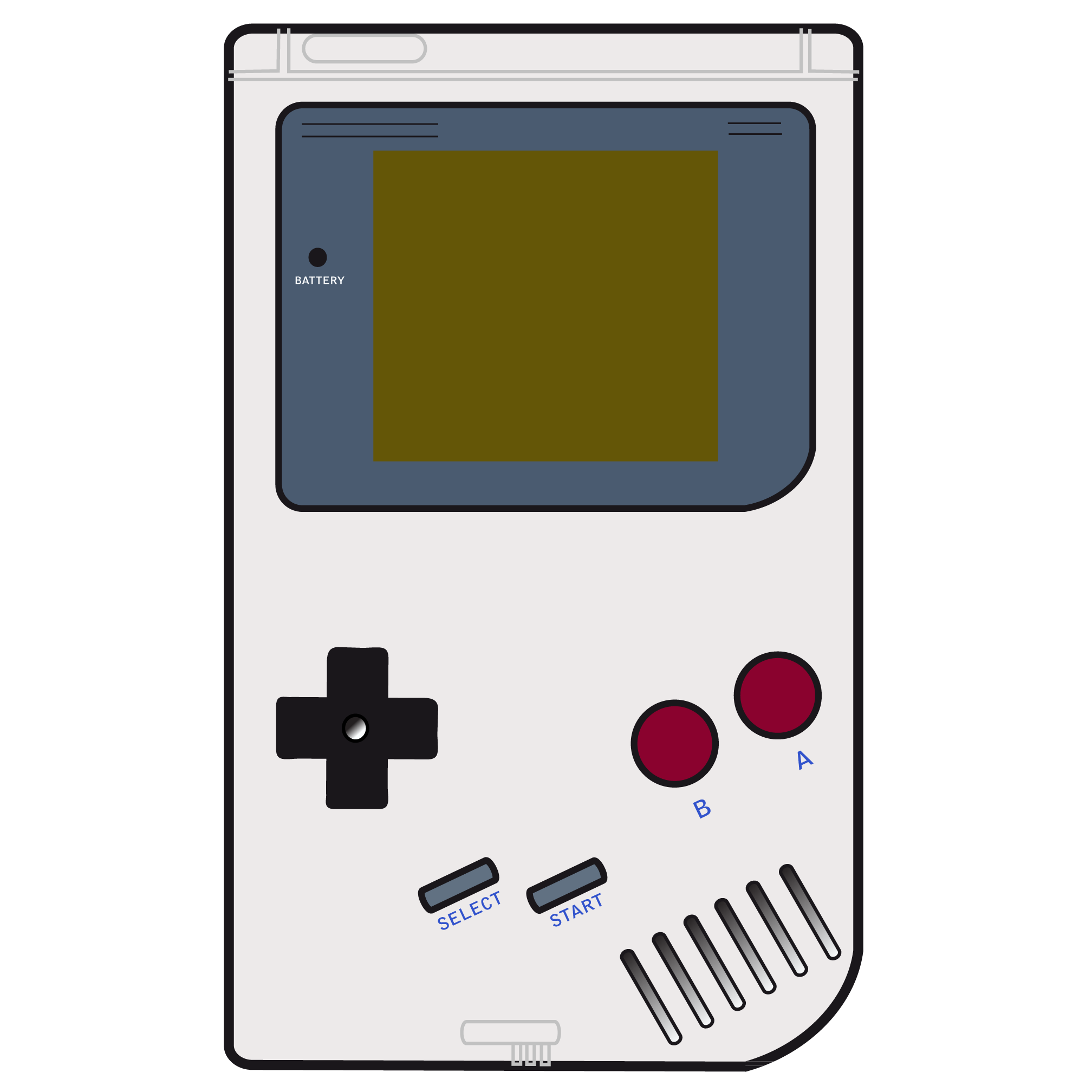 clipart library stock Game Boy Clipart