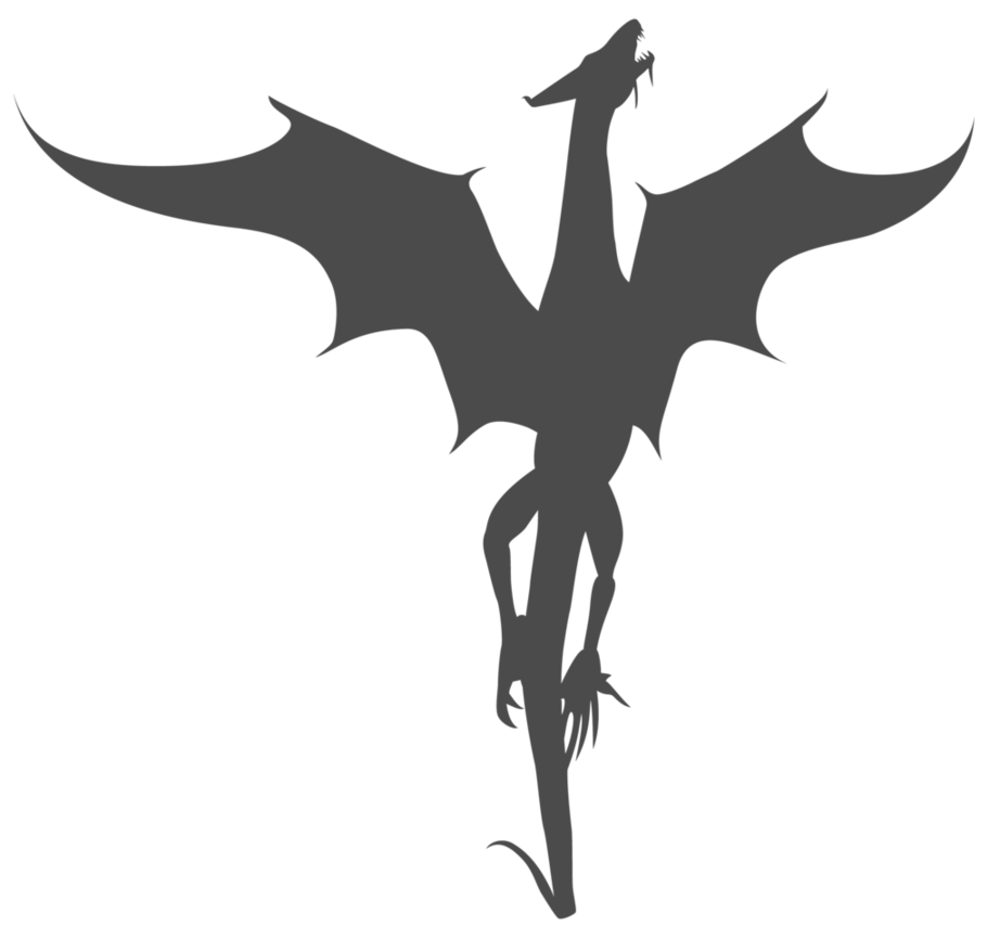 clipart royalty free Dragons Silhouette at GetDrawings