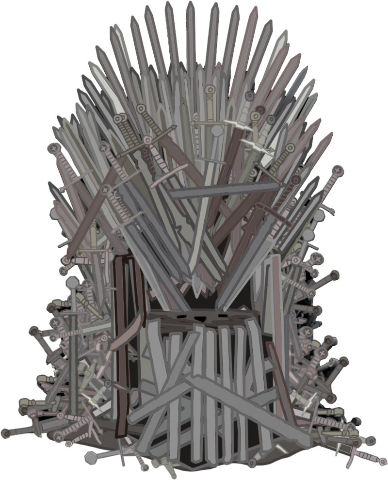 graphic library stock drawing chair game thrones #93787952