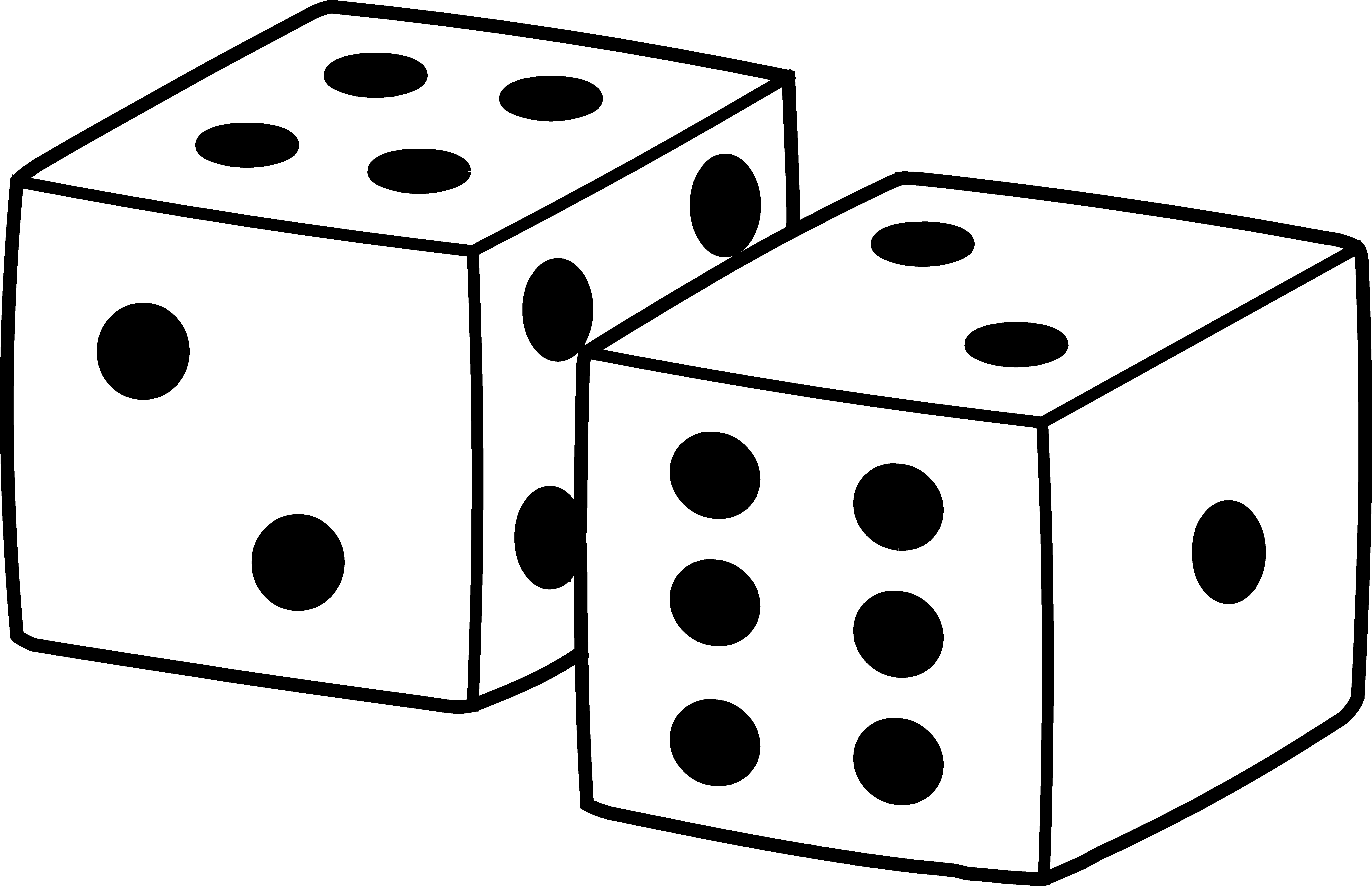 clipart free Dice clipart. Game time battling bones