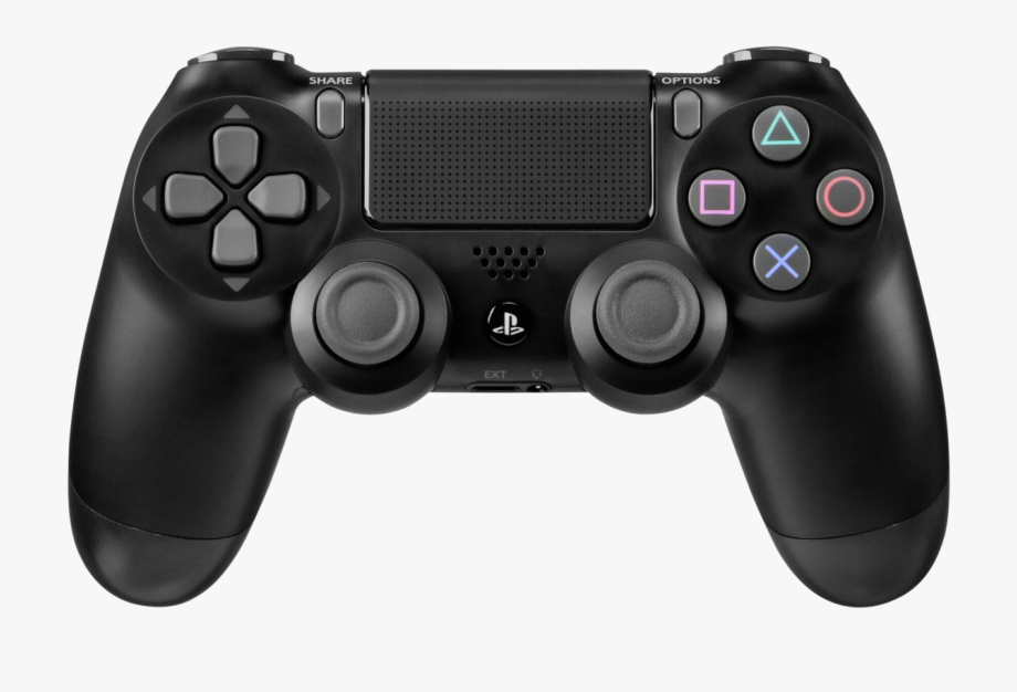 transparent stock Ps controller playstation slim. Gaming clipart.
