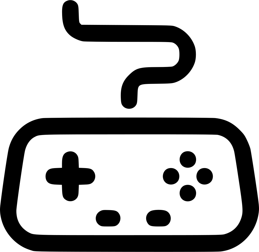graphic download Arcade Controller Game Gamepad Gaming Joystick Svg Png Icon Free