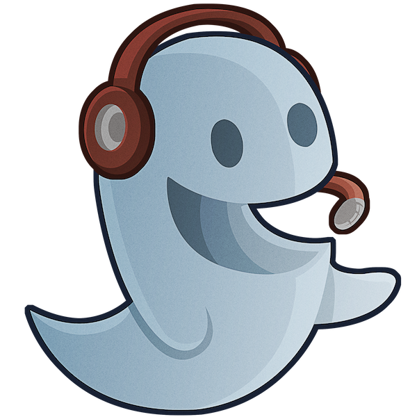 black and white Clipart ghost cool ghost