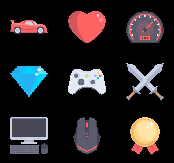 clip art freeuse library Vector button psd.  video game icon