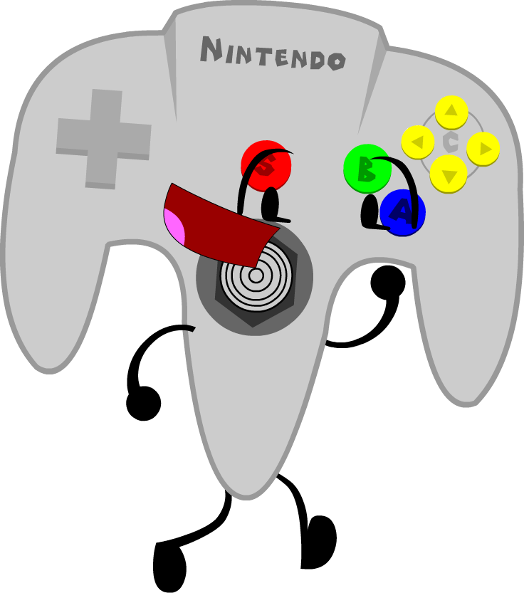 picture royalty free stock gaming clipart n64 controller #79223797