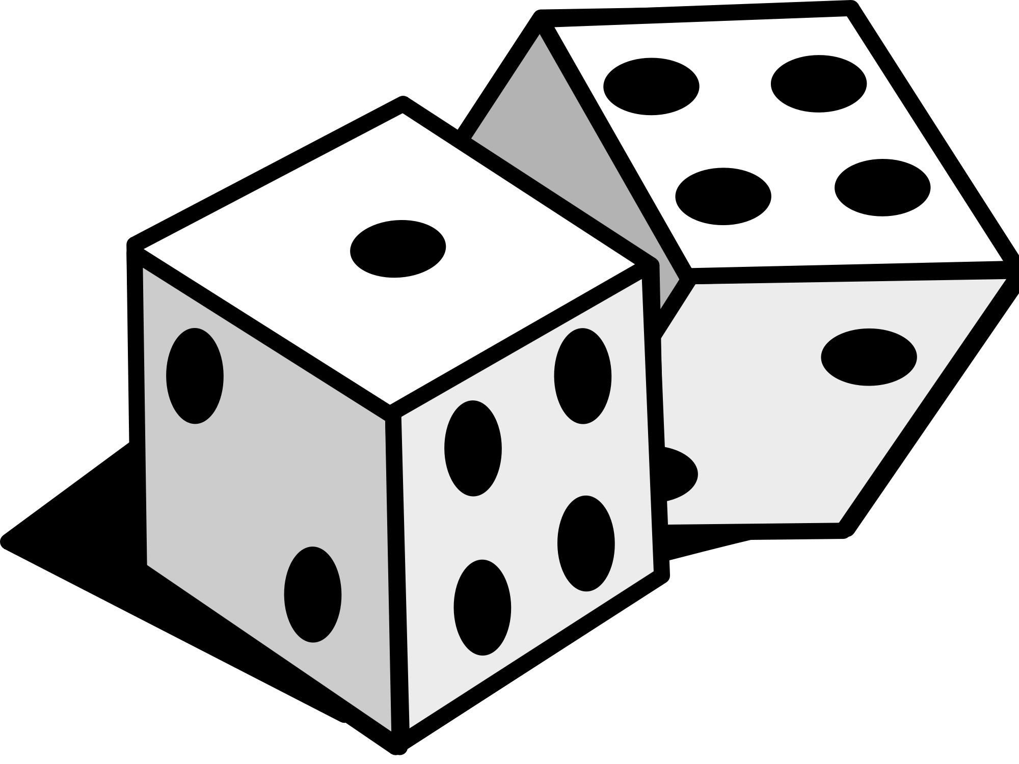 svg freeuse download Dice svg. Probability theory mathematics and