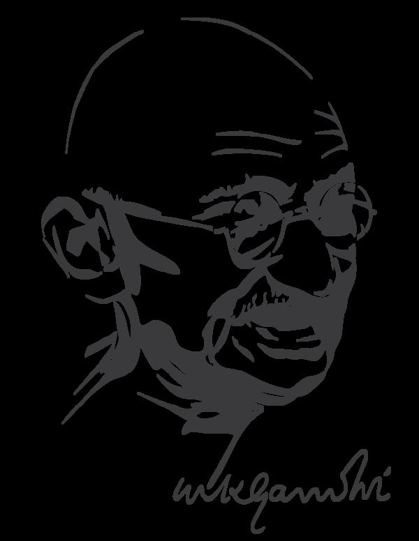 freeuse stock Mahatma Gandhi by astayoga