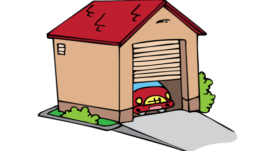 clip art royalty free Garage clipart. Station .