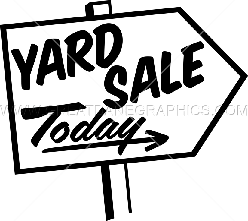 clip art transparent yard sale sign clipart #70856686