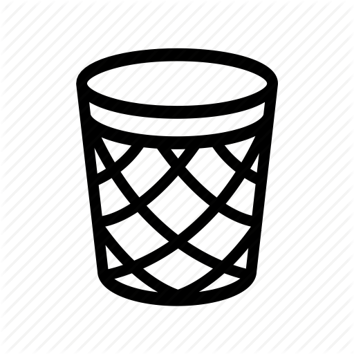 graphic royalty free library Garbage Can Drawing at GetDrawings