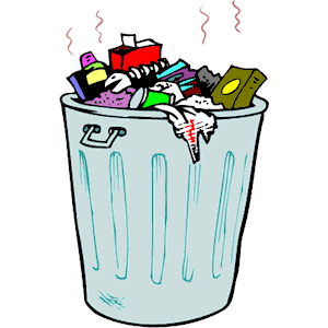 picture free library Free garbage can cliparts. Trash clipart