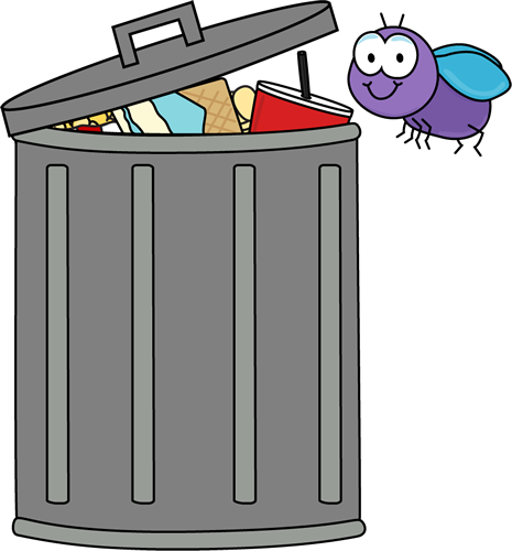 graphic black and white library Trashcan clipart cartoon. Free trash cliparts download
