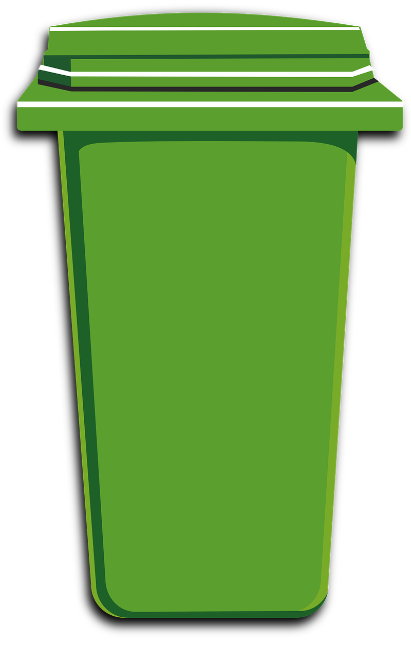 banner library Trashcan clipart bin. Free image on pixabay