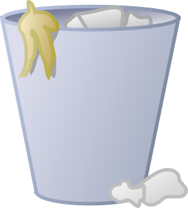 vector free Full Trash Can Clip Art at Clker