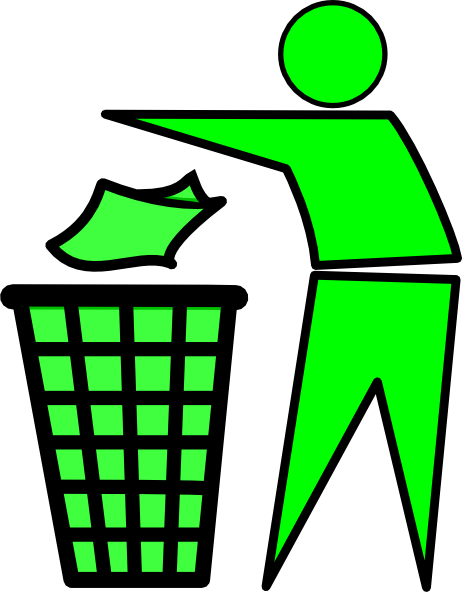 graphic free library Recycling vector waste segregation. Garbage clip art at