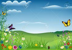 vector transparent library  best landscape images. Garden background clipart